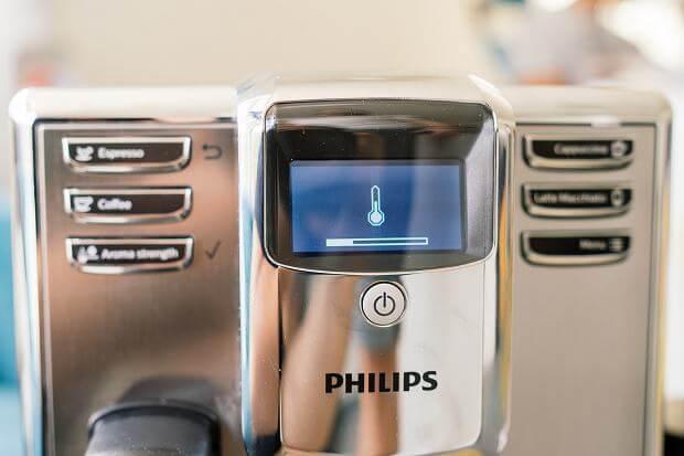 Ekspres ciśnieniowy PHILIPS EP536510 przyciski