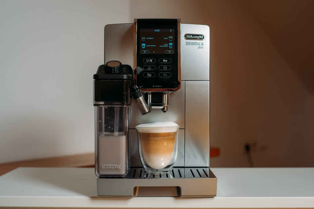 ekspres do kawy De'Longhi Dinamica Plus ECAM 370 95 S