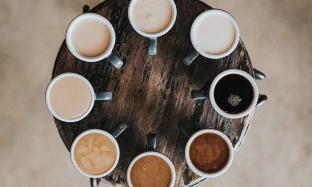 Rodzaje kaw: espresso, cappuccino, latte, americano i inne