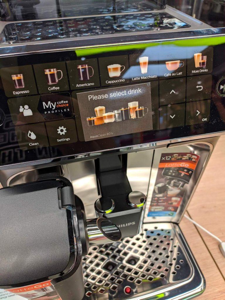 Philips 5400 Lattego wyświetlacz
